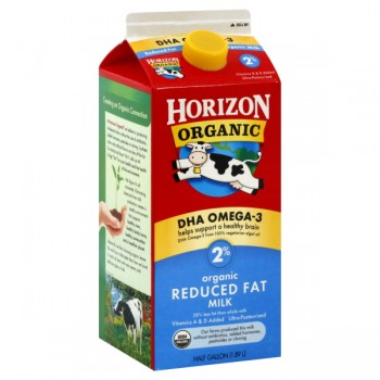 Horizon Organic Milk Reduced Fat 2% with DHA Omega-3
