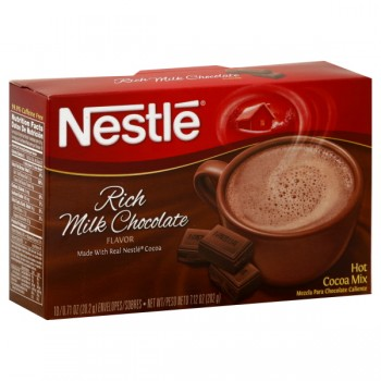 Nestle Rich Chocolate Flavored Hot Cocoa Mix - 10 ct
