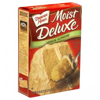 Duncan Hines Moist Deluxe Cake Mix Lemon