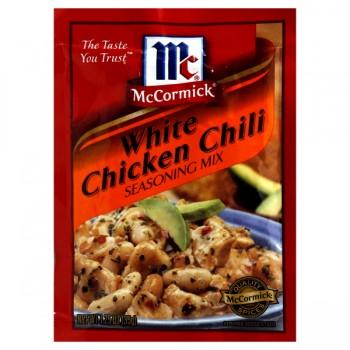 McCormick Seasoning Mix Chili White Chicken