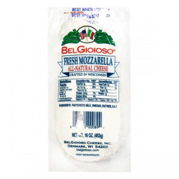 BelGioioso Cheese Mozzarella Fresh Log Cryovac