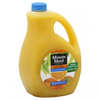 Minute Maid Premium Original Orange Juice Calcium & Vitamin D Low Pulp