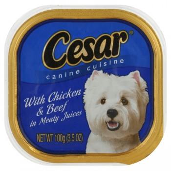 Cesar Original Pate Wet Dog Food Chicken & Beef