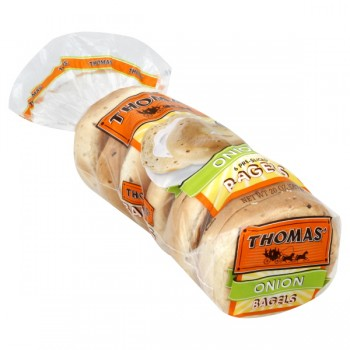 Thomas' Bagels Onion - 6 ct
