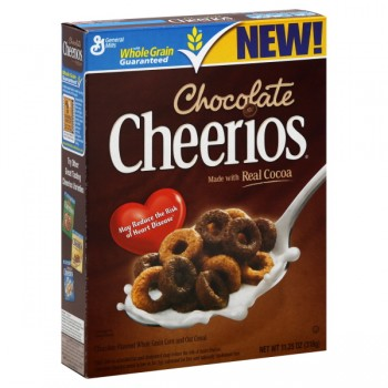 General Mills Cheerios Cereal Chocolate