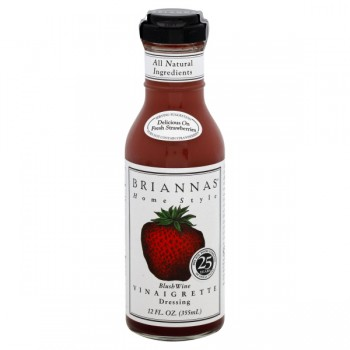 Briannas Home Style Salad Dressing Blush Wine Vinaigrette