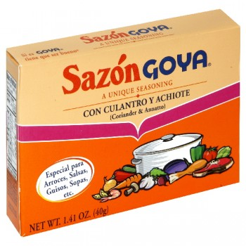 Goya Seasoning Sazon Coriander & Annotto - 8 ct