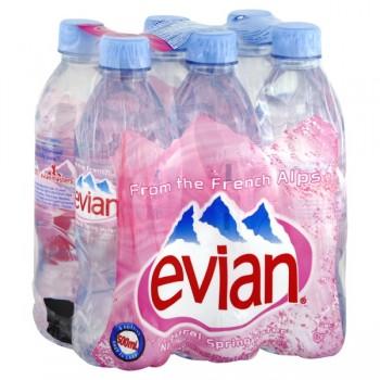 Evian Spring Water - 6 pk
