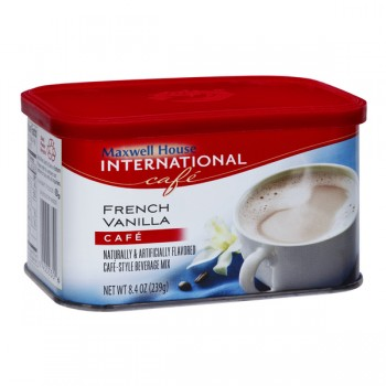 Maxwell House International French Vanilla Cafe Beverage Mix