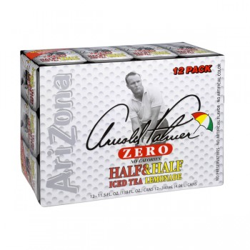 AriZona Arnold Palmer Half & Half Iced Tea & Lemonade Zero - 12 pk