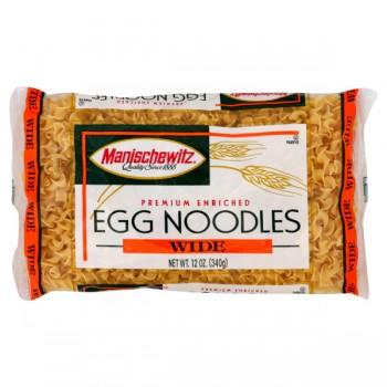 Manischewitz Egg Noodles Wide