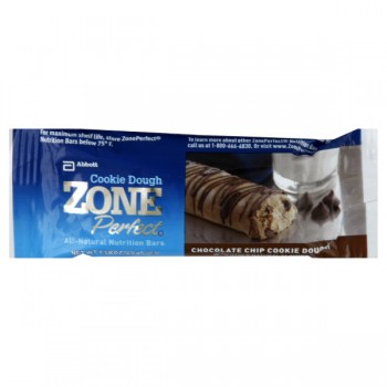 ZonePerfect Nutrition Bar Chocolate Chip Cookie Dough All Natural