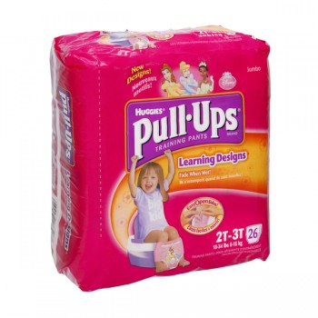 Huggies Pull-Ups Training Pants Learning Designs 2T-3T Girl - 18-34 lbs