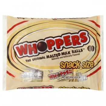 Hershey's Whoppers Malted Milk Balls Snack Size