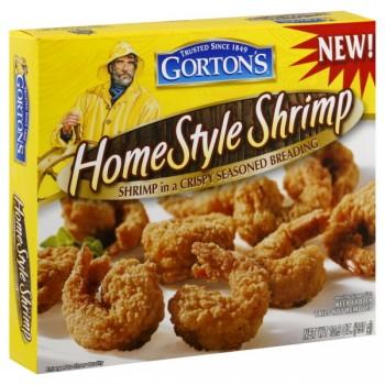 Gorton's Homestyle Shrimp in a Crispy Seasoned Breading Frozen
