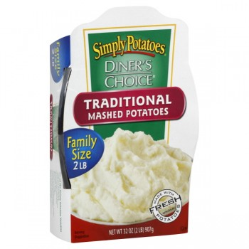 Simply Potatoes Diner's Choice Mashed Potatoes Traditional Family Size