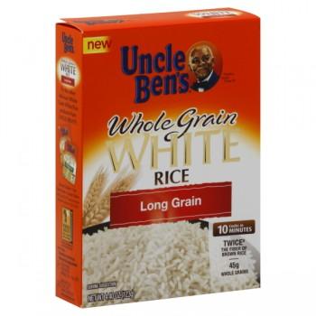 Uncle Ben's Rice White Whole Grain Long Grain