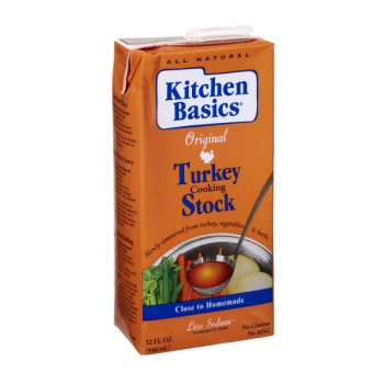 Kitchen Basics Real Stock Turkey Natural