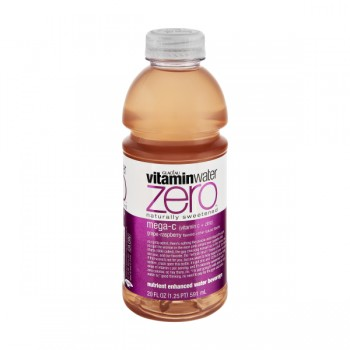 Glaceau Vitamin Water Zero Mega-C Grape Raspberry Flavored