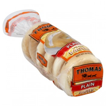 Thomas' Bagels Plain - 6 ct