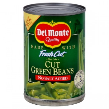 Del Monte Fresh Cut Green Beans Cut No Salt Added