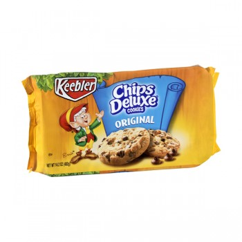 Keebler Chips Deluxe Cookies Chocolate Chip