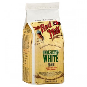 Bob's Red Mill Flour White Unbleached Enriched Unbromated