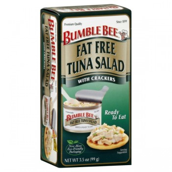 Bumble Bee Tuna Salad with Crackers Fat Free