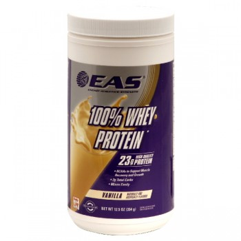 EAS 100% Whey Protein Dietary Supplement Vanilla