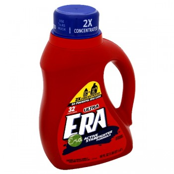 Era 2X Ultra Concentrated Liquid Laundry Detergent