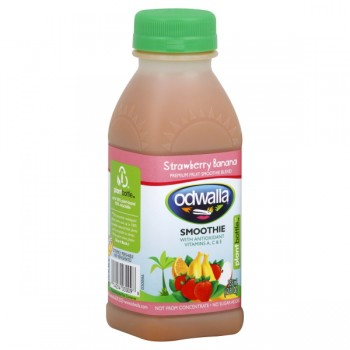 Odwalla Strawberry Banana Fruit Smoothie Blend All Natural