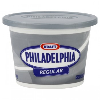 Kraft Philadelphia Cream Cheese Spread Regular