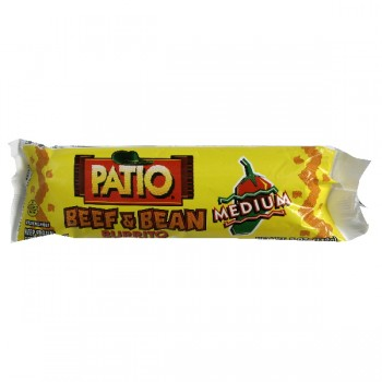 Patio Burrito Beef & Bean Medium