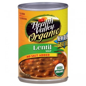 Health Valley Organic Soup Lentil No Salt Added