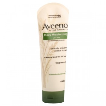 Aveeno Daily Moisturizing Lotion Dry Skin Fragrance Free