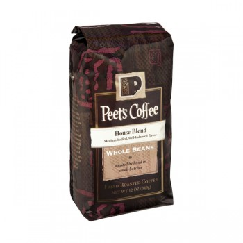 Peet's House Blend Coffee (Whole Bean)