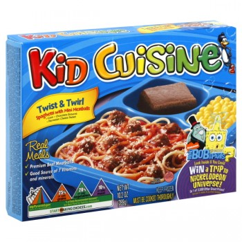 Kid Cuisine Spaghetti with Mini Meatballs