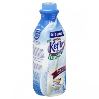 Lifeway Kefir Probiotic Cultured Milk Smoothie Plain Low Fat