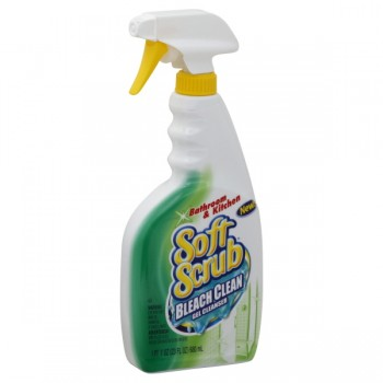 Soft Scrub Bleach Clean Gel Cleanser Trigger Spray