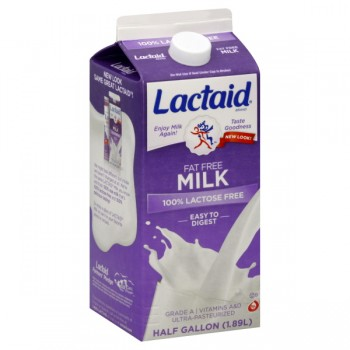 Lactaid 100% Lactose Free Milk Fat Free