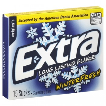 Wrigley's Extra Gum Winterfresh Slim Pack Single Pack