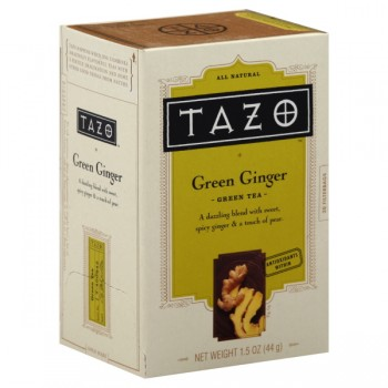 Tazo Green Ginger Blend of Green Teas with Ginger & Pear Green Tea Bags
