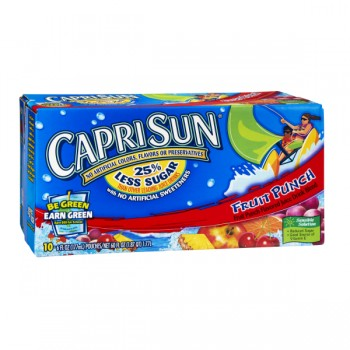 Capri Sun Fruit Punch Juice Drink - 10 pk