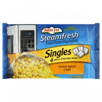 Birds Eye Steamfresh Singles Corn Super Sweet - 4 pk