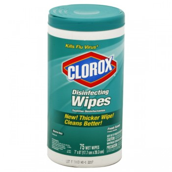 Clorox Disinfecting Wipes Fresh Scent
