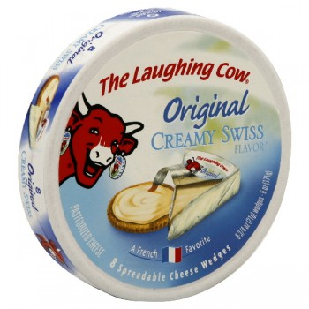 The Laughing Cow Cheese Wedges - 8 ct