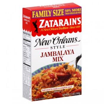 Zatarain's New Orleans Style Rice Mix Jambalaya Family Size
