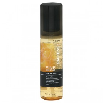 Pantene Pro-V Fine Hair Style Spray Gel Root Lifter Pump