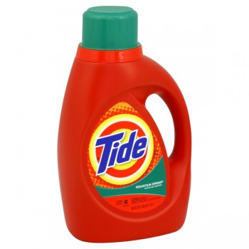 Tide Concentrated Liquid Laundry Detergent Mountain Spring Scent