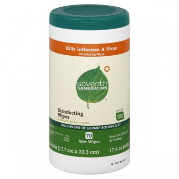 Seventh Generation Disinfecting Wipes Lemongrass & Thyme Scent